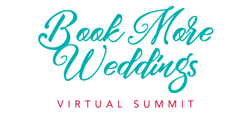 Book More Weddings Virtual Summit Logo Narrow