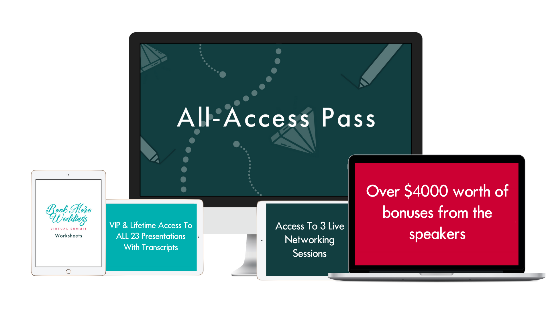 All-Access Pass Mockup December