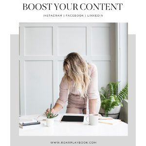 Boost Your Content Workbook