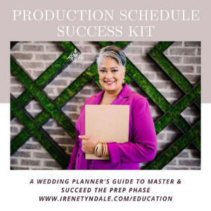 Production Prep Success Kit - A Wedding Planners Guide to Mastering The Prep Phase